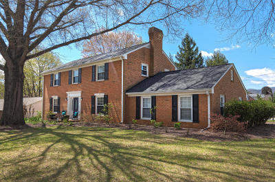 Roanoke County Single Family Home For Sale: 3452 Overbrook Dr