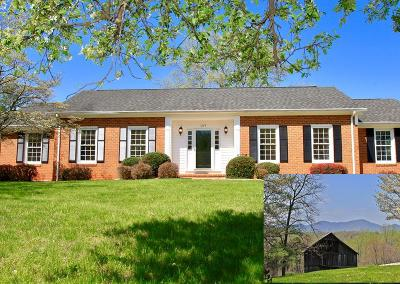 Bedford County Single Family Home For Sale: 1229 Trails End Rd