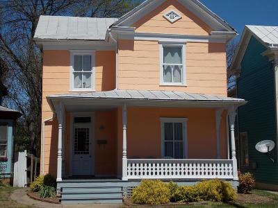 Roanoke Single Family Home For Sale: 541 Elm Ave SW