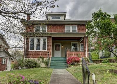 Roanoke Single Family Home For Sale: 1725 Greenwood Rd SW
