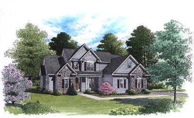 Rocky Mount Single Family Home For Sale: Lot 70 Penny Ln