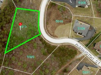 Roanoke County Residential Lots & Land For Sale: 5919 Paddington Ct