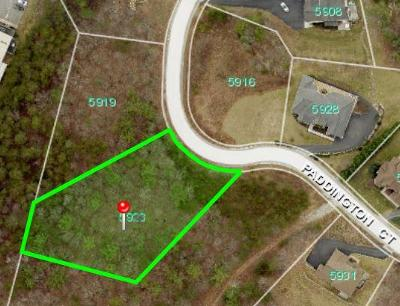 Roanoke County Residential Lots & Land For Sale: 5923 Paddington Ct