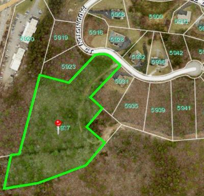 Roanoke County Residential Lots & Land For Sale: 5927 Paddington Ct