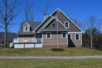 Bedford County Single Family Home For Sale: 1547 Walnut Grove Church Rd