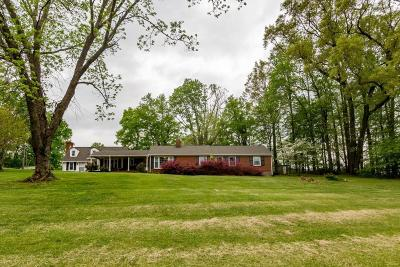 Rocky Mount Single Family Home For Sale: 215 Barfoot West Rd #& 213