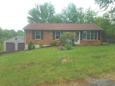Vinton Single Family Home For Sale: 104 Valley Ridge Dr