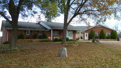 Franklin County Single Family Home For Sale: 1226 Alean Rd