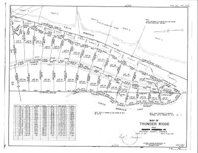 Bedford County Residential Lots & Land For Sale: Lot 6 Thunder Ridge Rd