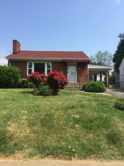 Roanoke City County Single Family Home For Sale: 2331 Windsor Ave SW