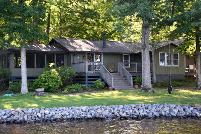 Single Family Home For Sale: 214 Anthony Home Rd