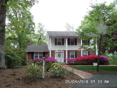Roanoke County Single Family Home For Sale: 1354 Deer Run Dr