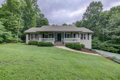 Botetourt County Single Family Home For Sale: 1852 Woodshire Dr