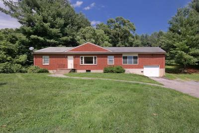 Botetourt County Single Family Home For Sale: 8254 Roanoke Rd