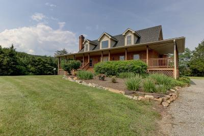 Botetourt County, Roanoke County Single Family Home Sold: 2929 West Wind Rd