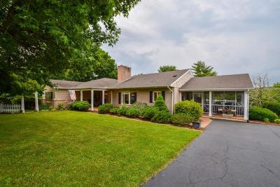 Roanoke County Single Family Home For Sale: 4015 Winding Way Rd SW