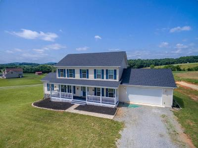 Boones Mill Single Family Home For Sale: 300 Dugwell Rd