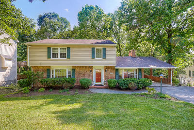 Roanoke City County Single Family Home For Sale: 830 Orchard Rd SW