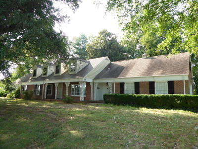 Rocky Mount Single Family Home For Sale: 219 Barfoot West Rd