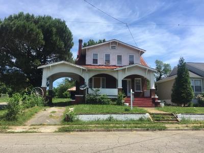 Roanoke Single Family Home For Sale: 2229 Hanover Ave NW