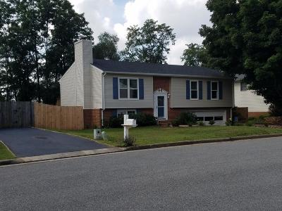 Roanoke Single Family Home For Sale: 5919 Old Manor Dr