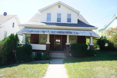 Roanoke City County Single Family Home For Sale: 1029 15th St SE