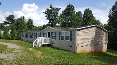 Rocky Mount Single Family Home For Sale: 655 Sontag Rd