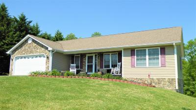 Rocky Mount Single Family Home For Sale: 1180 Bonbrook Mill Rd