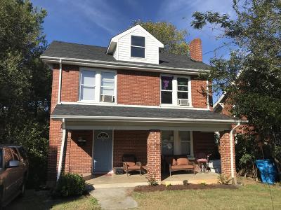 Roanoke Multi Family Home For Sale: 2047 Berkley Ave SW