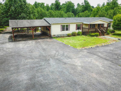 Bedford County Single Family Home For Sale: 5210 Stewartsville Rd