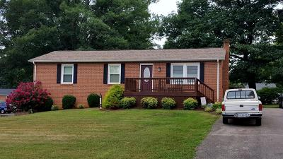 Rocky Mount Single Family Home For Sale: 390 Hilltop Dr