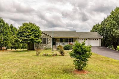 Rocky Mount Single Family Home For Sale: 5660 Grassy Hill Rd