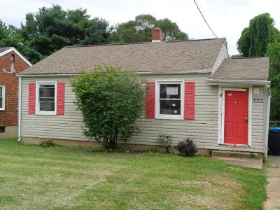 Roanoke Single Family Home For Sale: 3125 Maplelawn Ave NW