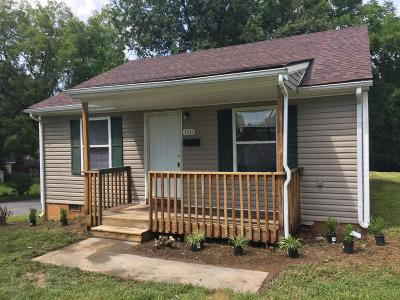 Roanoke Single Family Home For Sale: 1731 Essex Ave NW