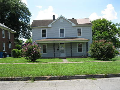 Roanoke Single Family Home For Sale: 1722 Staunton Ave NW