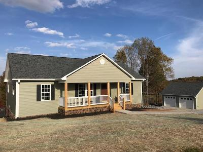 Bedford County Single Family Home For Sale: Lot 6 Savanna Hills Dr