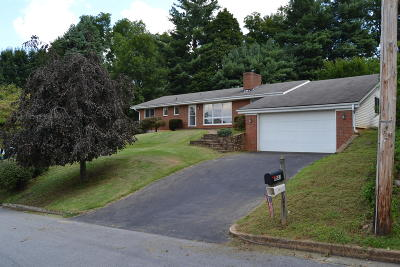 Roanoke County Single Family Home For Sale: 6843 Fair Oaks Rd