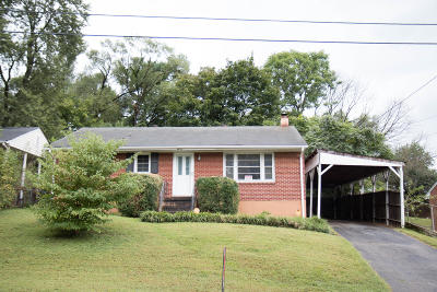 Roanoke VA Single Family Home For Sale: $115,000
