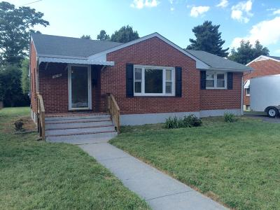 Roanoke VA Single Family Home For Sale: $125,000