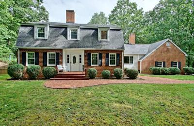 Roanoke County Single Family Home For Sale: 6133 Hidden Valley Dr