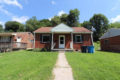 Roanoke VA Single Family Home For Sale: $39,900