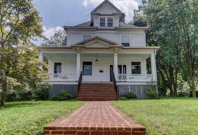Roanoke City County Single Family Home For Sale: 2222 Broadway Ave