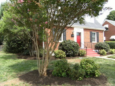 Roanoke Single Family Home For Sale: 4111 Greenlawn Ave NW
