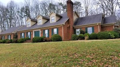 Rocky Mount Single Family Home For Sale: 80 Old Fort Rd