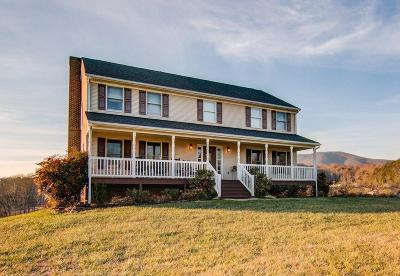 Boones Mill Single Family Home For Sale: 507 Labellevue Dr