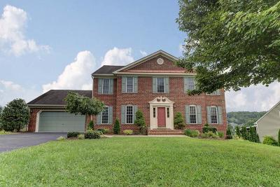 Roanoke Single Family Home For Sale: 6215 Stone Manor Dr