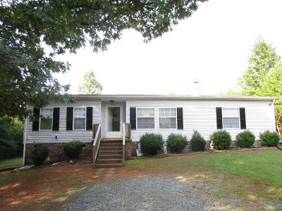 Pittsylvania County Single Family Home For Sale: 855 Toshes Rd