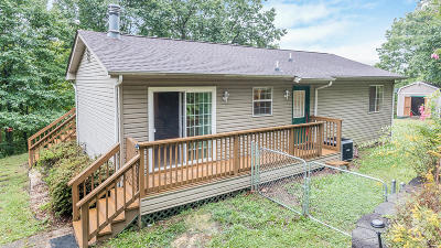 Blue Ridge VA Single Family Home For Sale: $154,900