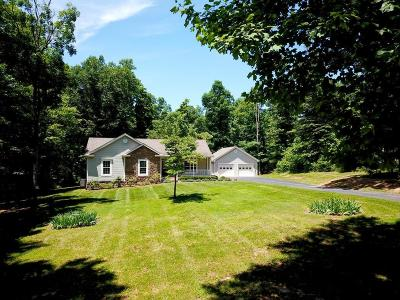 Rocky Mount Single Family Home For Sale: 504 Miriam Hill Dr
