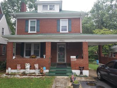 Roanoke VA Single Family Home For Sale: $150,000